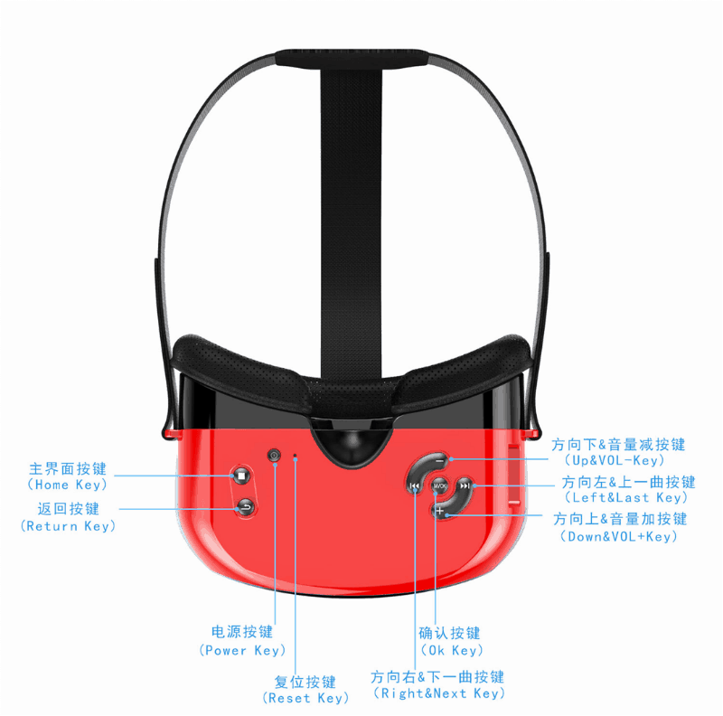 Eny-EVR01-3 Eny EVR01 Virtual Reality Headset