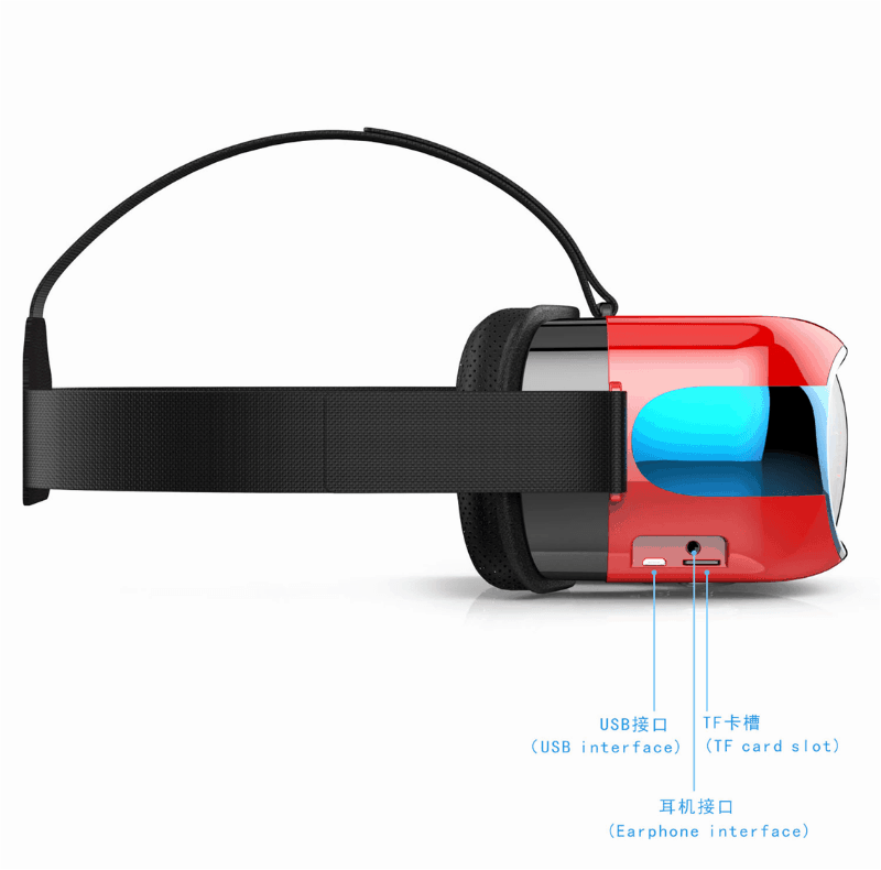 Eny-EVR01-4 Eny EVR01 Virtual Reality Headset