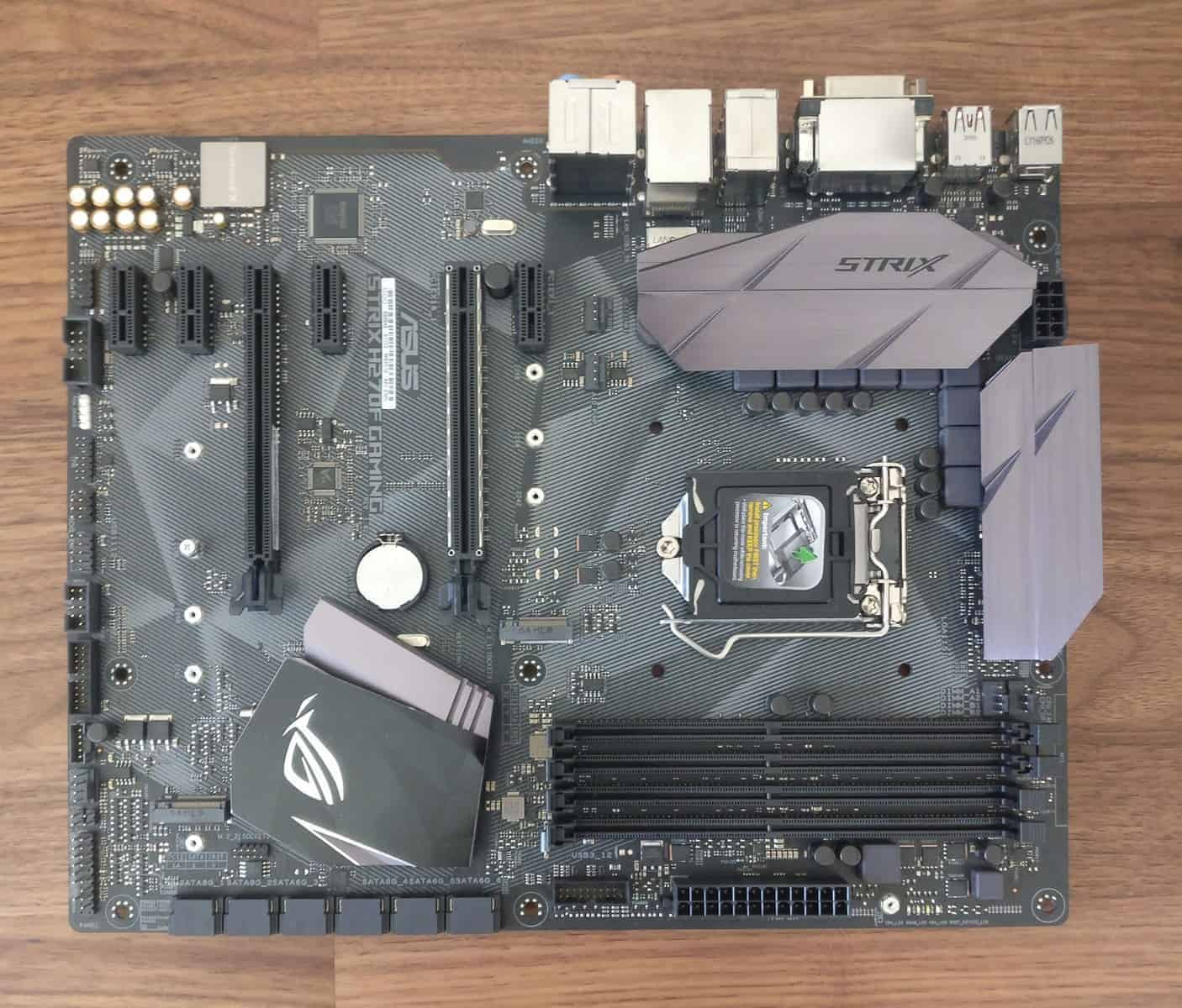 Asus Strix H270F ROG Gaming Motherboard Review - The Streaming Blog