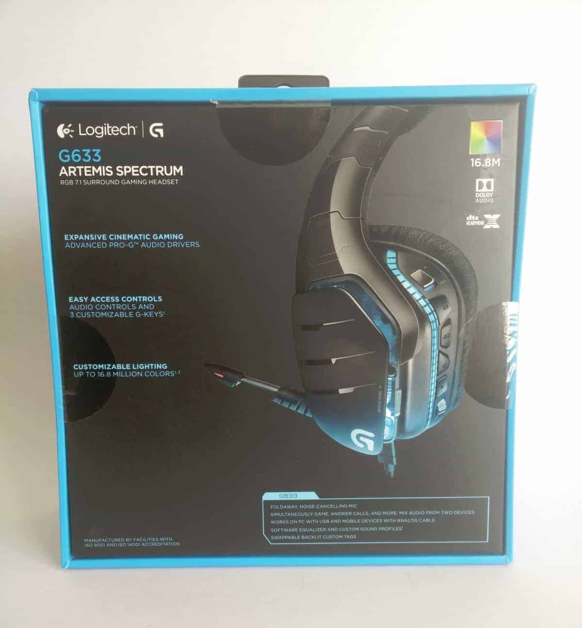 Logitech G633 Artemis Spectrum Headset Review - The Streaming Blog