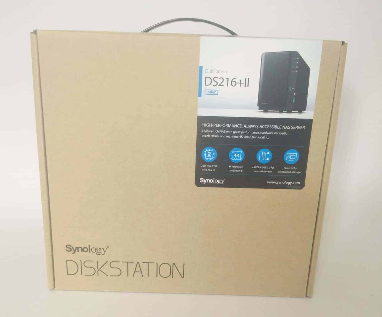 Synology DS216+II 2 Bay NAS Review - The Streaming Blog