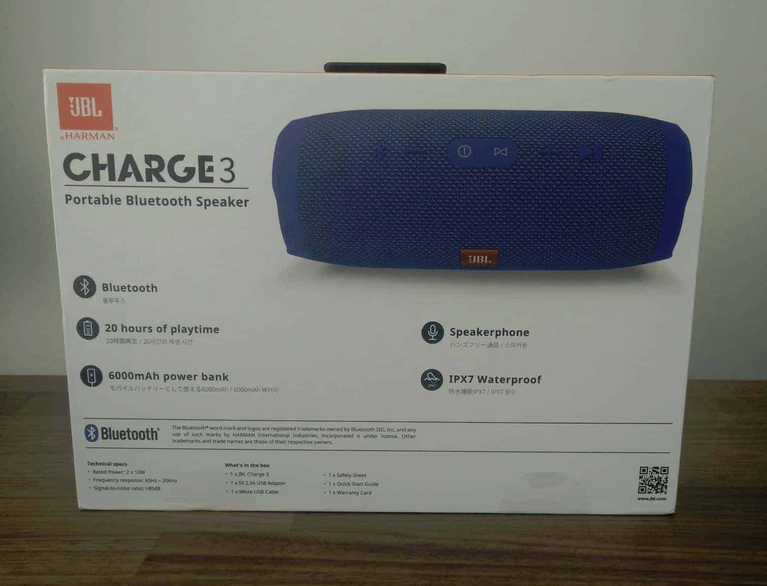 JBL Charge 3 Review - The Streaming Blog