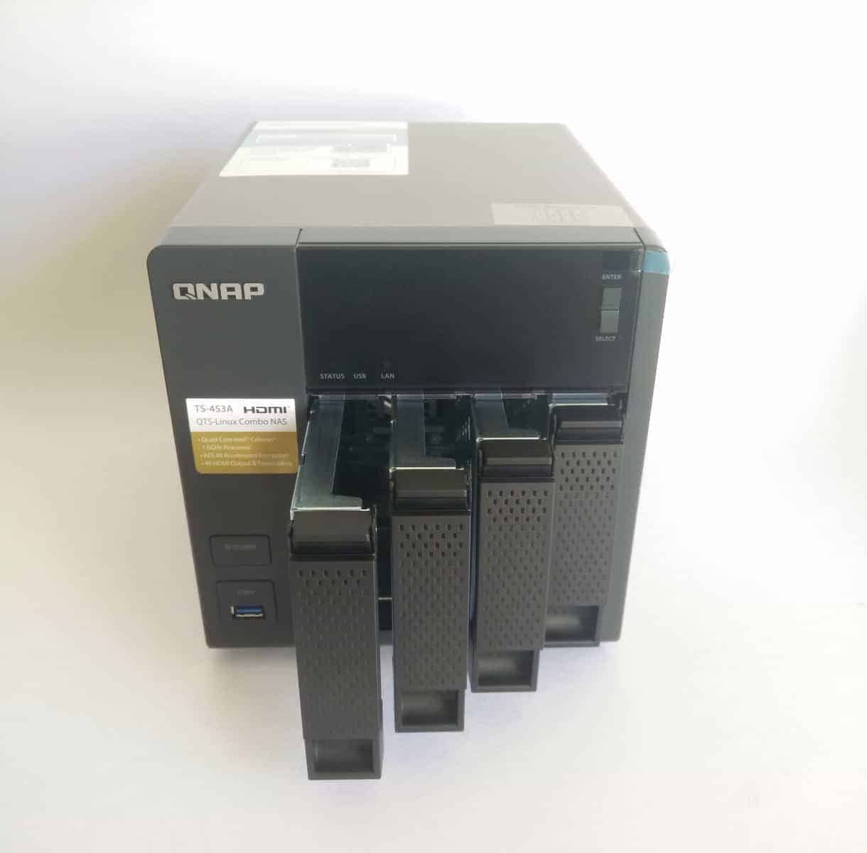 QNAP TS-453A 4 Bay NAS Review - The Streaming Blog