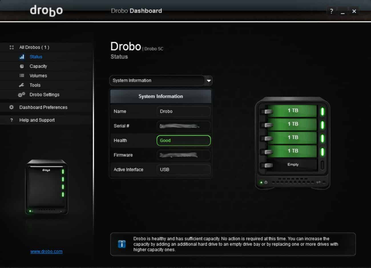 Drobo 5C DAS Review - The Streaming Blog