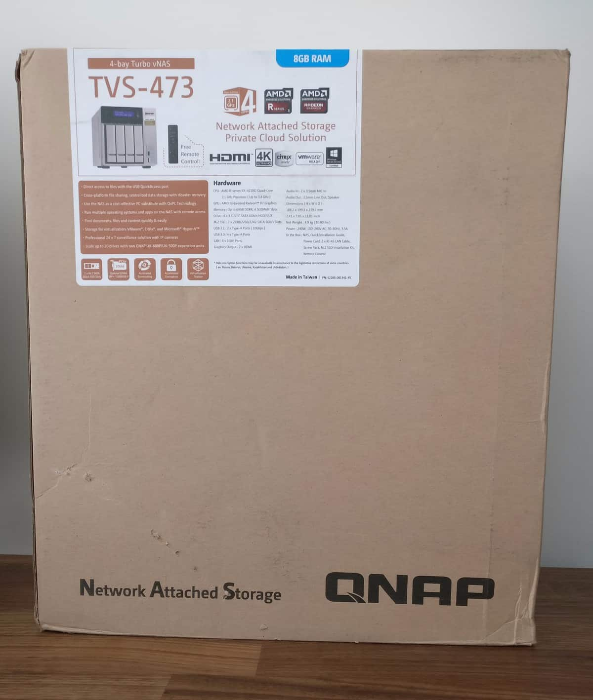 QNAP TVS-473 4-Bay NAS Review - The Streaming Blog