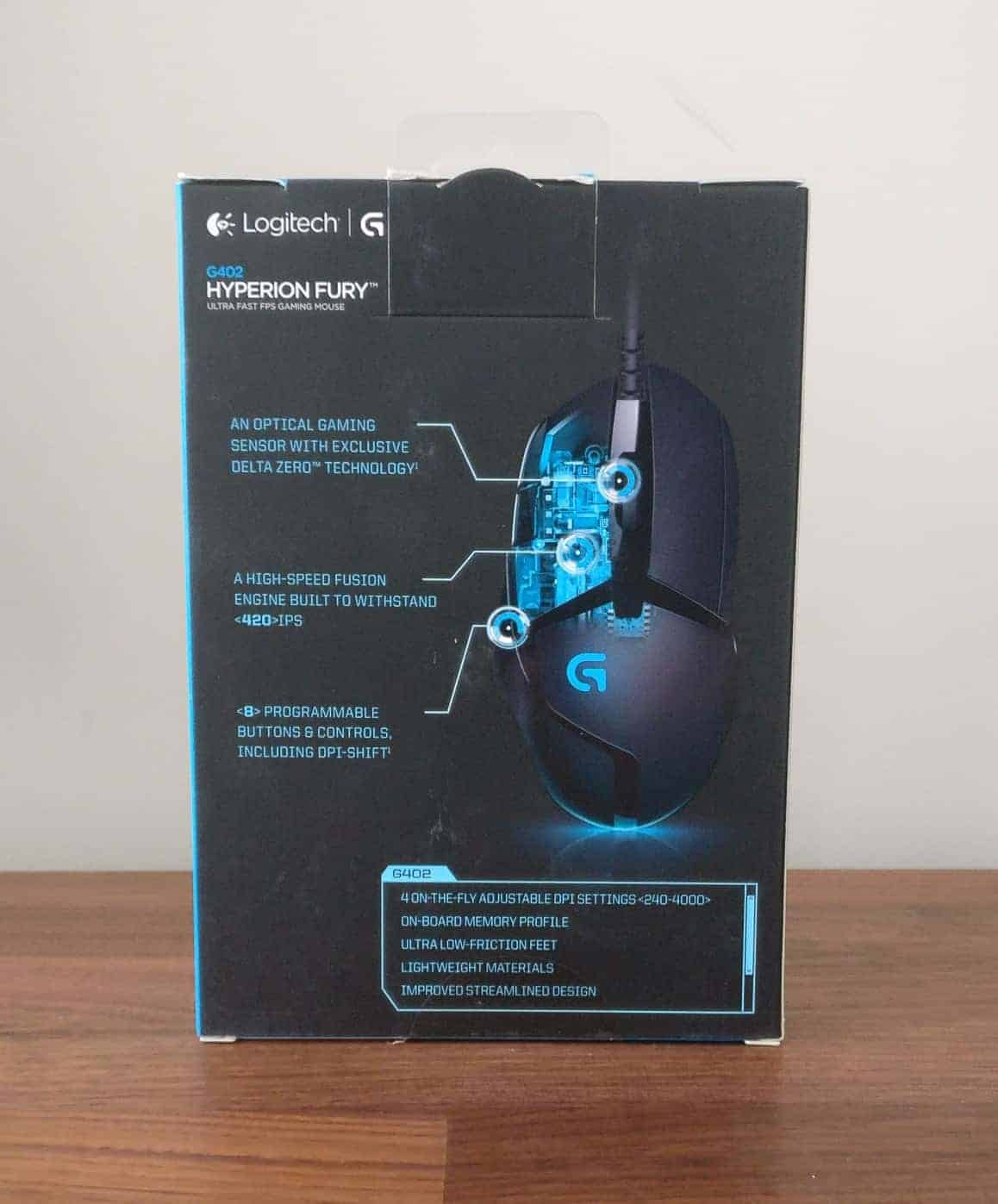Logitech G402 Hyperion Fury Review - The Streaming Blog