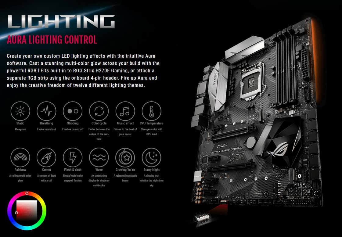 Asus Strix H270F ROG Gaming Motherboard Review - The