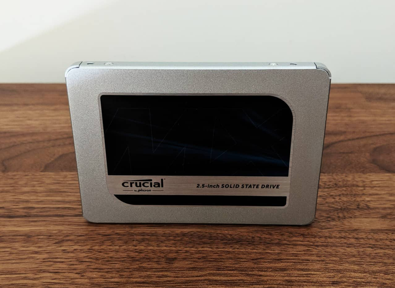 Crucial MX500 1TB SSD Review - The Streaming Blog