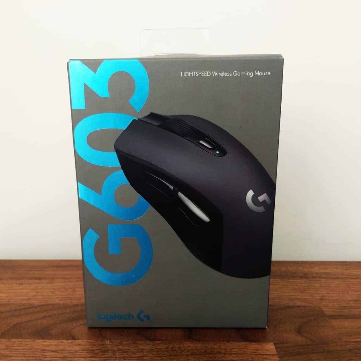 Logitech G603 Lightspeed Gaming Mouse Review - The Streaming