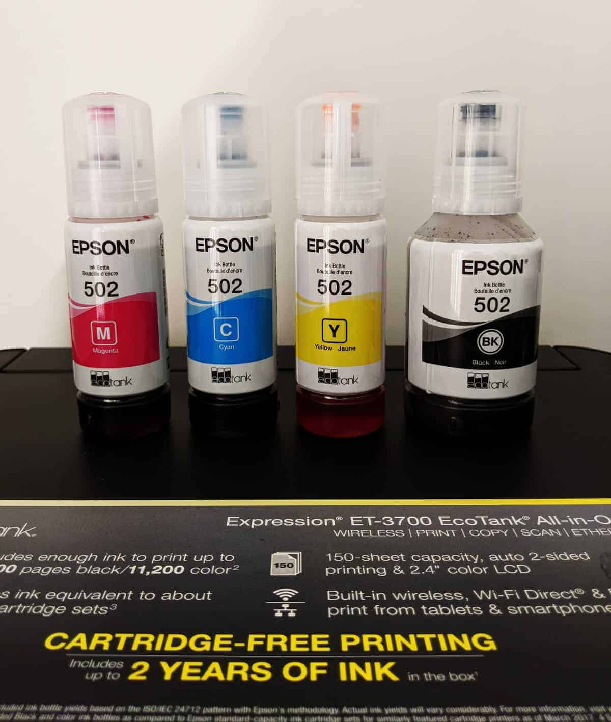 Epson Expression ET-3700 Review - The Streaming Blog