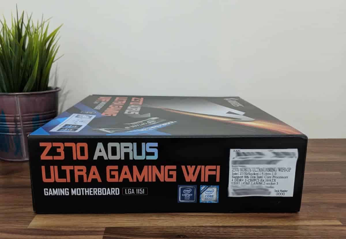 AORUS Z370 Ultra Gaming WIFI-OP Review - The Streaming Blog