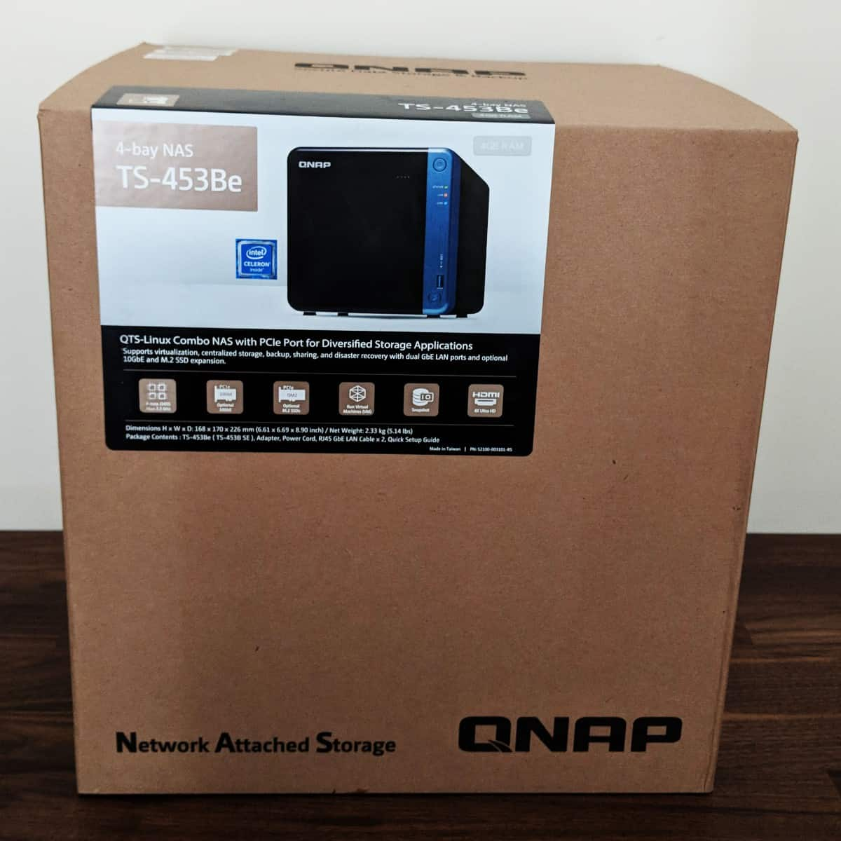 QNAP TS-453Be Review - The Streaming Blog