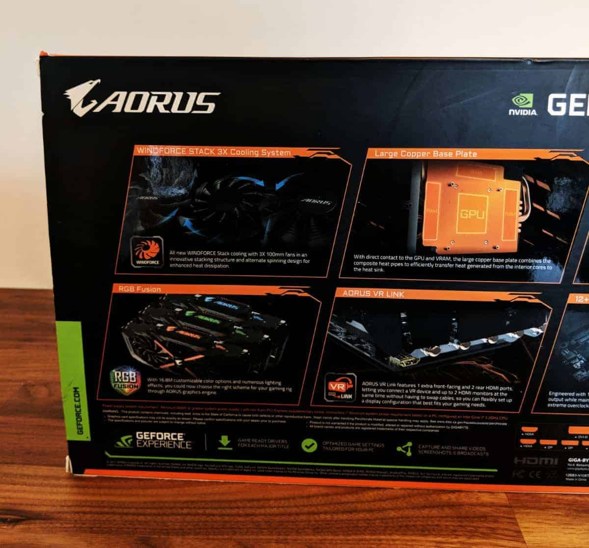 Gigabyte AORUS GTX 1080 Ti Review - The Streaming Blog