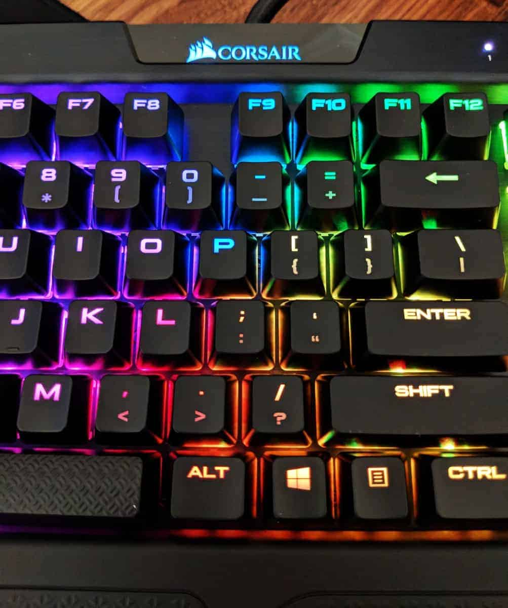 Corsair K70 RGB MK 2 Review - The Streaming Blog