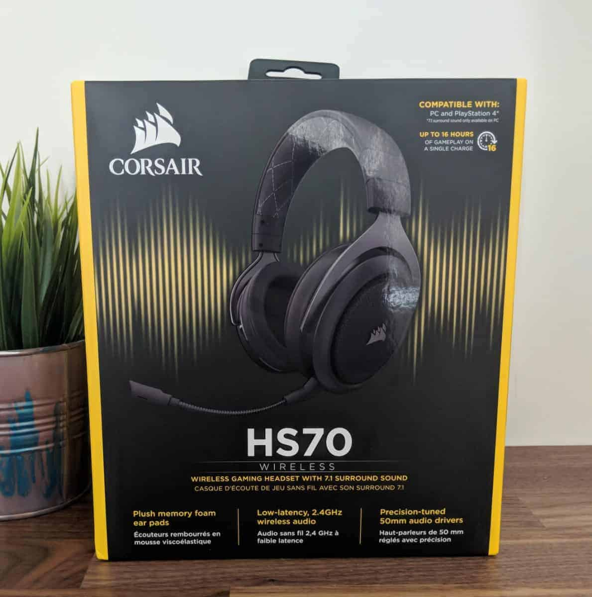Corsair HS70 Review - The Streaming Blog