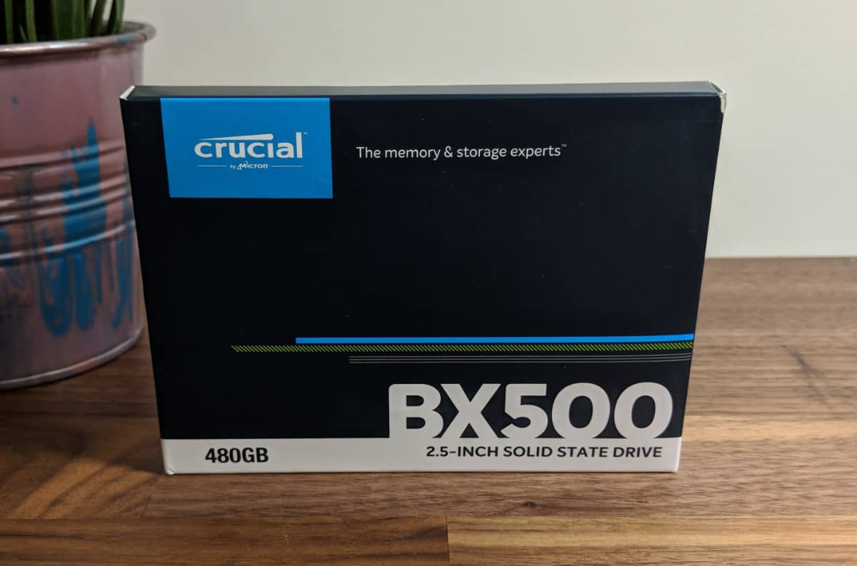 Crucial BX500 480GB SSD Review - The Streaming Blog