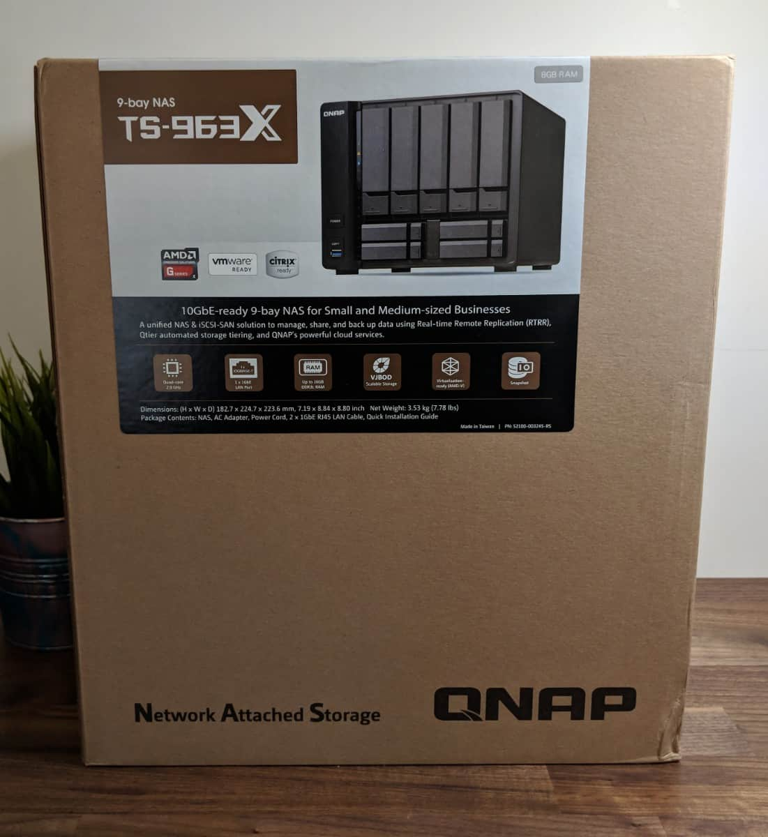 QNAP TS-963X Review - The Streaming Blog