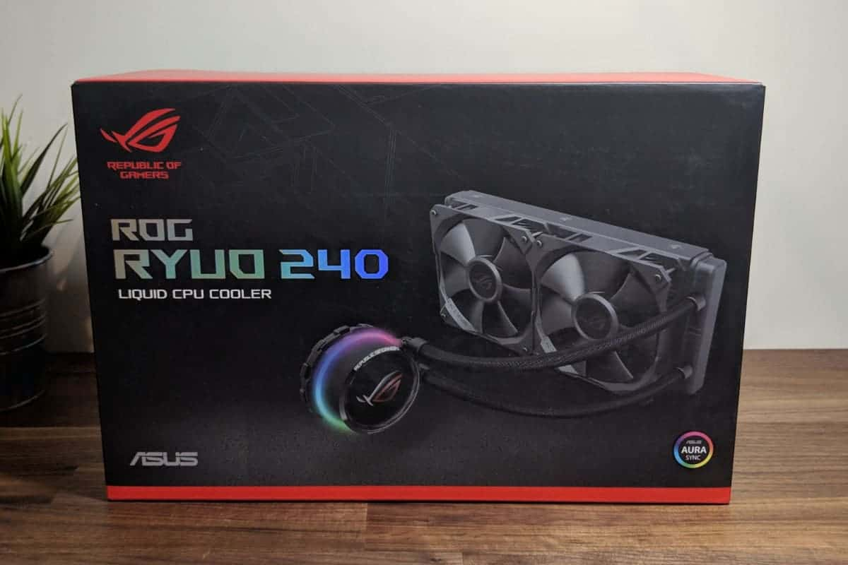 Asus ROG Ryuo 240 Review - The Streaming Blog