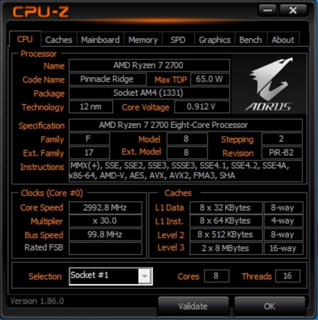 AMD Ryzen 7 2700 Review - The Streaming Blog