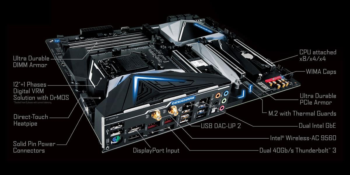 Gigabyte Z390 Designare Review - The Streaming Blog