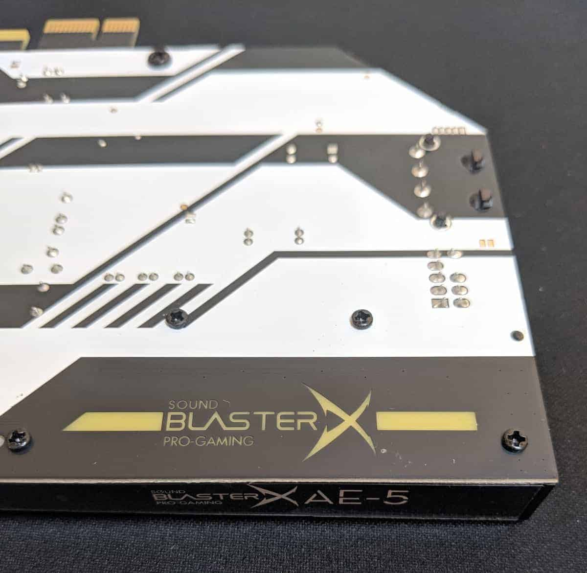 Creative Sound BlasterX AE-5 Sound Card Review - The Streaming Blog