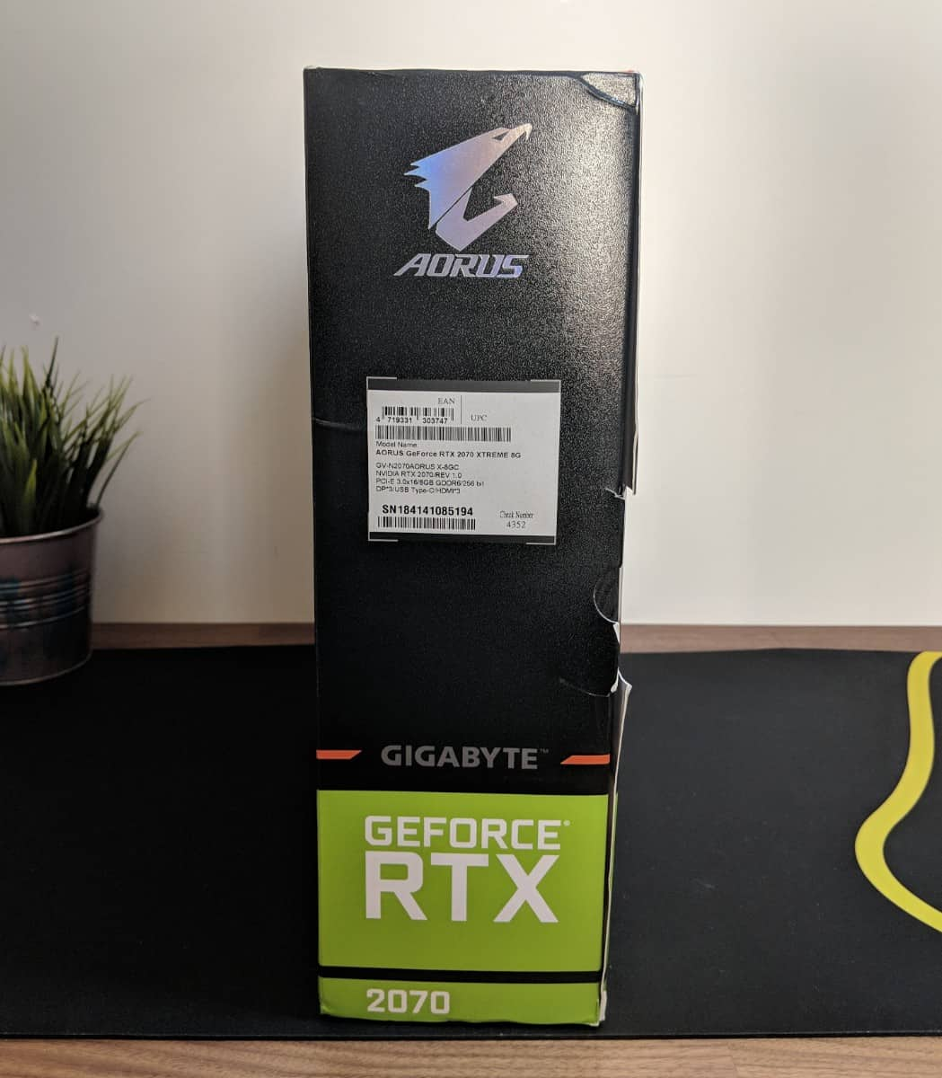 Gigabyte AORUS RTX 2070 Xtreme Review - The Streaming Blog