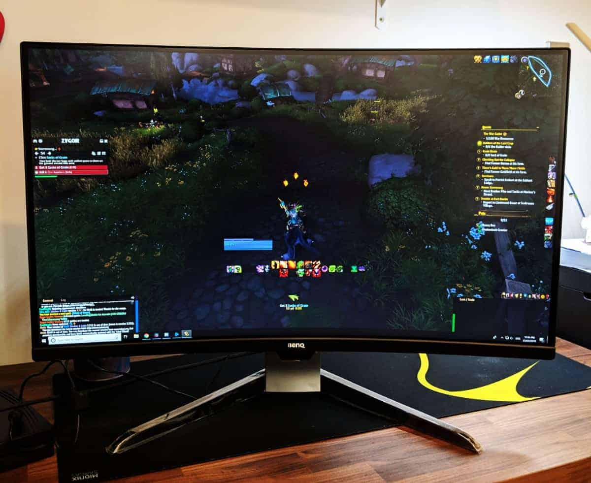 BenQ EX3203R Curved Gaming Monitor Review - The Streaming Blog